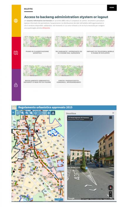 webgis civici stradario