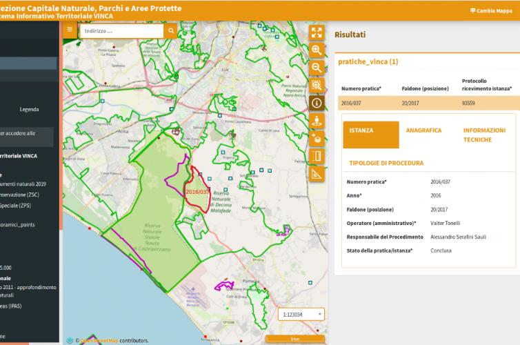 Gestionali cartografici Web – RL